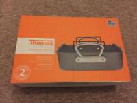 Thomas roasting pan with rack (Teflon)