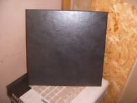 FLOOR TILES NEW BOXED X10 CAPRI BLACK