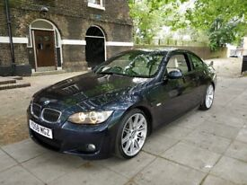 BMW 325d M SPORT 2008 AUTO COUPE ONE (P) OWNER FULL HISTORY