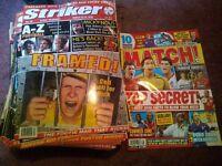 Football magazines - Striker & Match