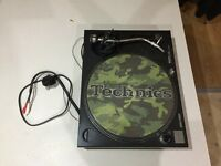 Technics 1210 MK2 with Ortofon PRO S - Very Good Condition