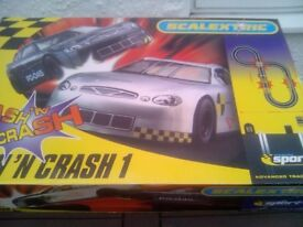 Scalextric Bash N Crash set