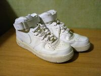 Nike Air Force 1 Mid White Size UK 8.5