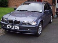 BMW 320i Touring 2001 steel blue