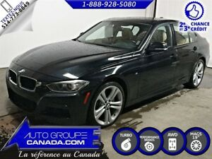 2014 BMW 335i xDrive, NAV, TOIT, CUIR, M PACKAGE!!+++