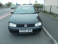 vw golf,2003, 1.4 drives all good, p/x to clear, with mot