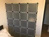 Wardrobe Storage Cube Box