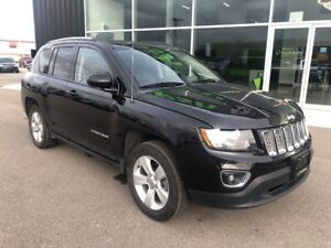 2017 Jeep Compass North, 4X4, Sunroof, Leather Interior