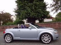 SPRING/SUMMER SALE!! (2004) AUDi TT Roadster Quattro 1.8T 225 BHP FREE DELIVERY/MOT 1 YR/TAX/FUEL
