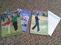 British Open Programmes 1985 and 1996 Golf Championship