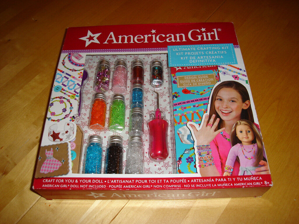 American Girl Ultimate Crafting Kit Brand New Unwanted Gift In