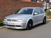 Volkswagen Golf GTI TDI 25th Annivesary Edition (2002/52) + Number 0705 + Limited Edition + RARE +