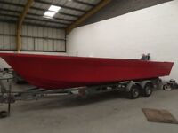 25ft / 7.6m Fyne Marine Fast Fisher 760 hull - one off deal to clear!