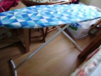 Iron and ironing board, good condition