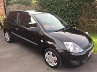Ford Fiesta 1.25 Petrol with Part Leather Seats