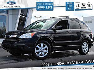 2007 Honda CR-V **EX-L*CUIR*4X4*TOIT*CRUISE*A/C**