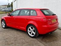 2008 AUDI A3 1.9 TDI FACELIFT 92,000 MILES £30 ROAD TAX EXCELLENT EXAMPLE