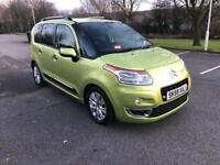 2009 59 PLATE CITROEN C3 PICASSO 1.6 HDI 90 EXCLUSIVE MPV - IMMACULATE STUNNING CONDITION