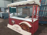 Catering trailer icecream stand Display freezers refrigeration