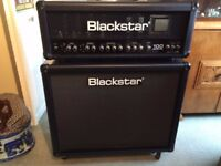 this is a Blackstar series one head three channel 100 watt and 2x12 cab.