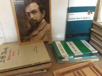 Sheet Music mix Opera, Piano, Oratorio, Song books