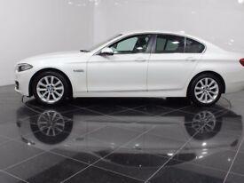 BMW 5 SERIES 520D SE (white) 2013