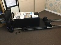 Areo Pilates Reformer with extras