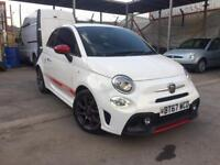 ABARTH 595 1.4 147bhp, 2017/67**ONLY DONE 2040 MILES**STUNNING CAR**BARGAIN!!