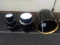 Tama Hyperdrive midnight spectrum Ltd edt birch shell pack