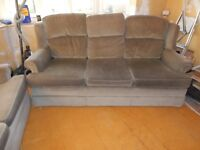 Sofa x 2 Two seater and three seater