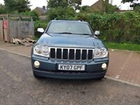 2007 Jeep Grand Cherokee 3.0 CRD V6 Overland Station Wagon 4x4 5dr Automatic @7445775115