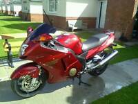 Honda blackbird open to offers