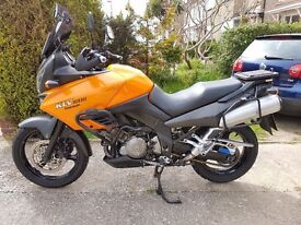 Kawasaki KLV 1000 £2000 ovno. 2005 New MOT, well maintained with service history