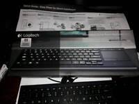 Logiteck k830 wireless keyboard