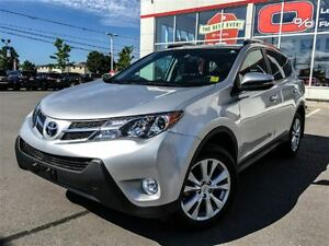 2015 Toyota RAV4 LIMITED TECH+HITCH & WIRE!