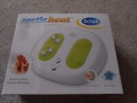 New Scholl arctic heat hot and cold shiatsu foot massager