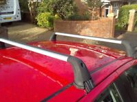 Genuine Toyota Yaris roof bars