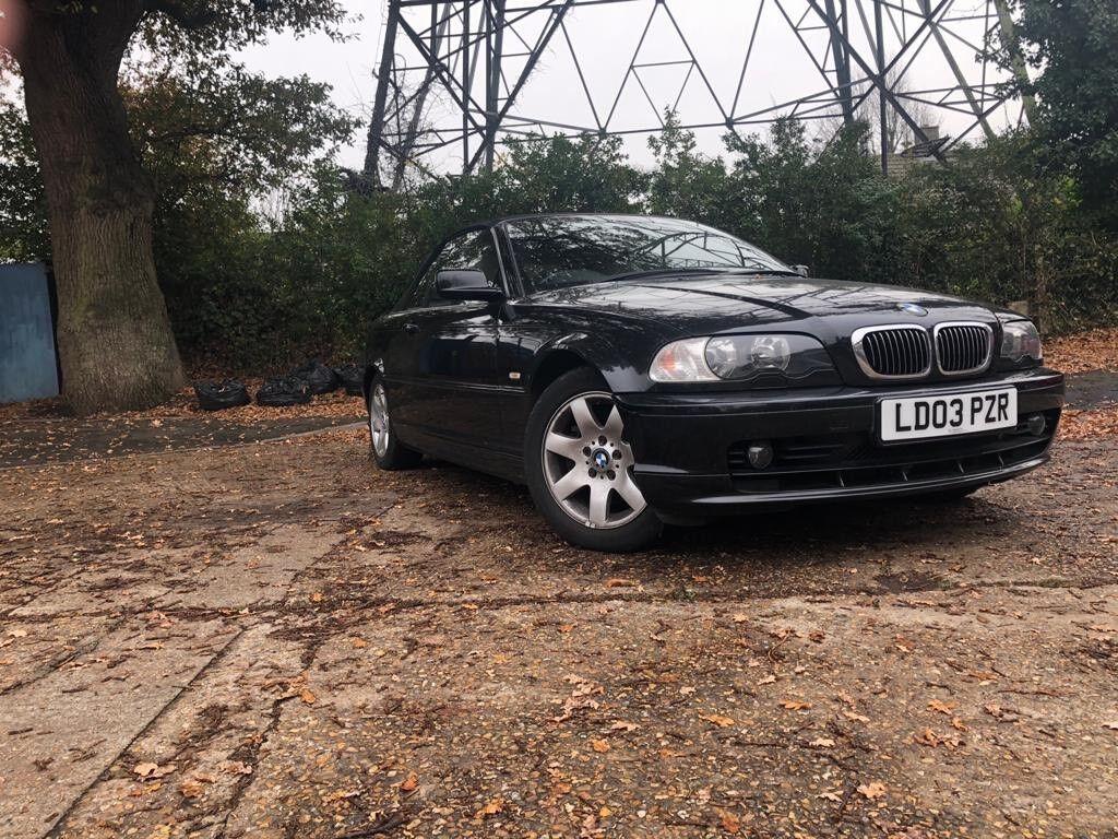 2003 BMW 320 Convertable e46 92k Miles 2 2 Automatic Auto   in Sutton,  London   Gumtree