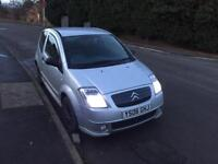 2006 citeroen c2 1.4 long mot excellent condition inside and out £500