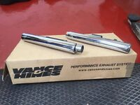 Vance and Hines shot gun straight shots for sale