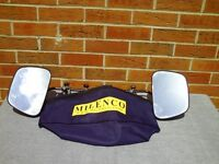 Milenco Aero Grand Flat Towing Mirrors