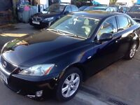 Lexus IS 220d- excellent drive- Full Servie history- spotless-alloy wheels- satellite navigation
