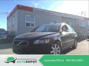 2007 Volvo S40 2.4L | LEATHER | MOONROOF