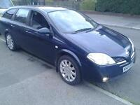 2004 nissan primera, lpg gas, runs and drives, spares or repair, ford, Peugeot, Citroën, vauxhall