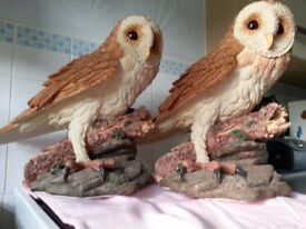 """Juliana Collection"" 2 large Owls"