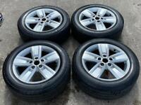 "17"" Genuine VW Davenport Transporter Alloy Wheels & Tyres SET3"