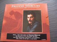Freddie mercury cds