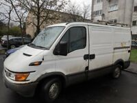 Iveco daily 2.8D spares or repair runs great mot expired