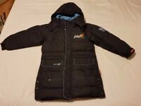 Boys Long Down Jacket / Coat - 7-8 years old