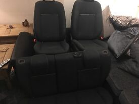Ford Fiesta mk7 full seats! Front & back.